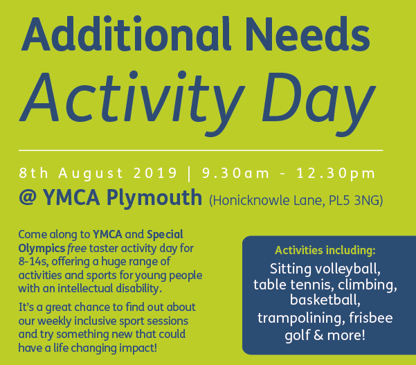 free activity day on august 8th, 9am - 12.30pm. Click below to register