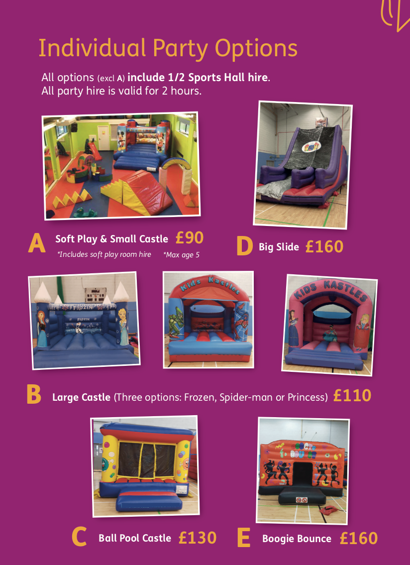 soft play party packs